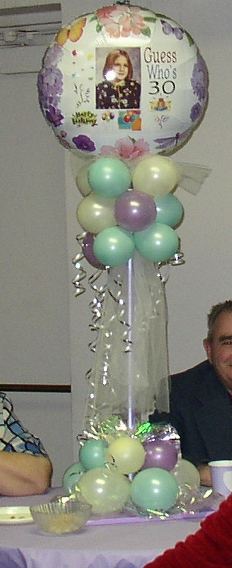 Photo Balloon Topiary